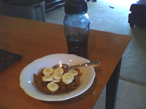 Special K Protein Plus with banana