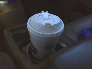 Coffee, 2 splendas, 2 creamers